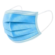 500 Pieces of 3-Layer Disposable Masks Protective Influenza Bacteria Face Safety Dust