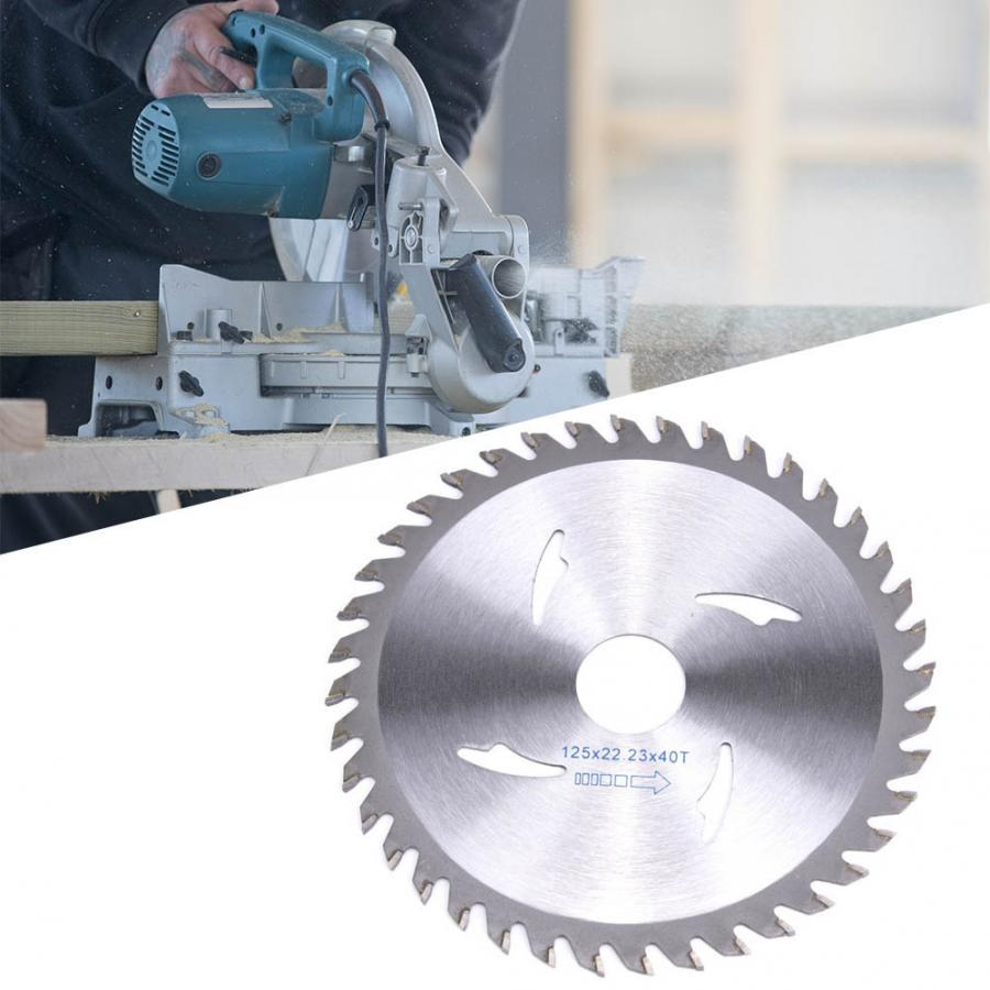 115mm/125mm Carbide Circular Saw Blade 40T Woodworking Rotary Cutting Disc Wheel For Wood Granite Marble Table Saw Angle Grinder