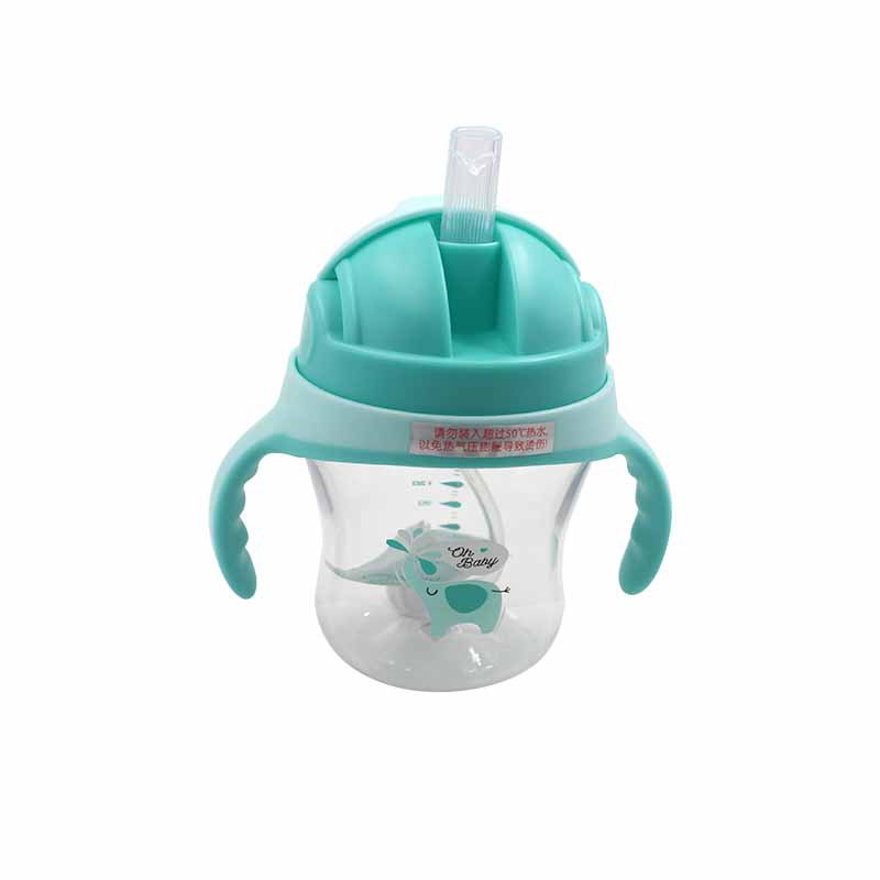 2019 Infants Penguin Modeling Sippy Cup Baby Drinking Double Handle Children Cup With Straw