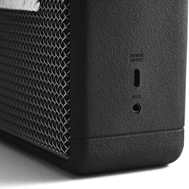 Portable wireless bluetooth speaker rock retro audio speakers for stockwell i ii BT bass Speaker Black Play time 20+h 4