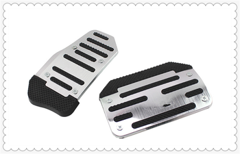 Car pedal modified universal metal aluminum brake mat clutch for BMW X Series E84 X1 X3 E83 F25 X5 E53 E70 image