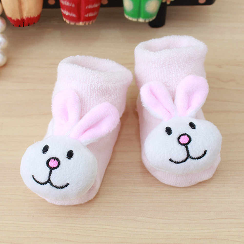 ถุงเท้าเด็กการ์ตูนทารกแรกเกิดเด็กทารกเด็กหญิงเด็กชาย Anti-Slip ถุงเท้าอบอุ่นรองเท้าแตะรองเท้าเด็กวัยหัดเดินถุงเท้าเด็กอ่อน calcetines M800 #