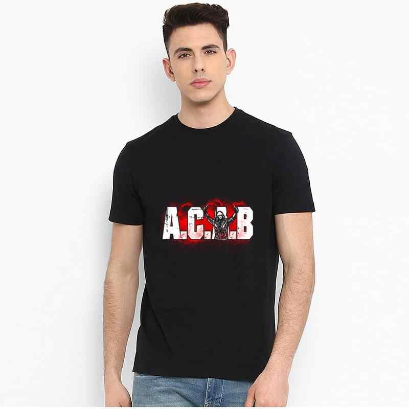 Anpassen acab pyro t-shirts männer 3xl 4xl 5xl neue mode t top