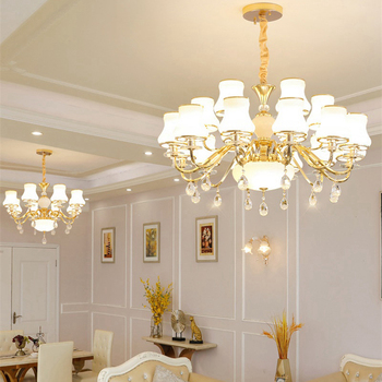 Modern Crystal Chandelier Living Room Chandeliers Luxurious Pendant European Chandelier Lighting Indoor Lamp Ceiling Chandeliers new design led crystal light ceiling crystal chandelier modern home chandeliers