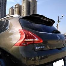 Rear Roof Lip Spoiler For Peugeot 3008 2014-2018 Hatchback Spoiler ABS Gloosy Black /Carbon Fiber Color Car Tail Wing Decoration
