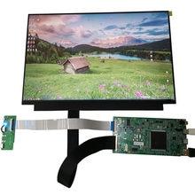 13.3-inch display kit módulo 4k tela lcd 3840x2160 TYPE-C tela hdmi TYPE-C interface 5v fonte de alimentação