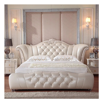 Classic Genuine Leather Bed 1