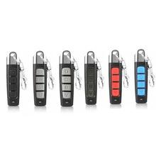 4 כפתורים שיבוט שלט רחוק אלחוטי משדר מוסך שער דלת חשמלי להעתיק בקר נגד גניבת מנעול מפתח