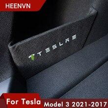 Heenvn – déflecteur de coffre pour Tesla Model 3 2021, accessoires, pièces de Partition de coffre, boîte de rangement, modèle 3