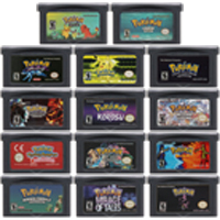 Video Game Cartridge Console Card 32 Bits Pokeon D Collection English Language For Nintendo GBA skinny puppy video collection