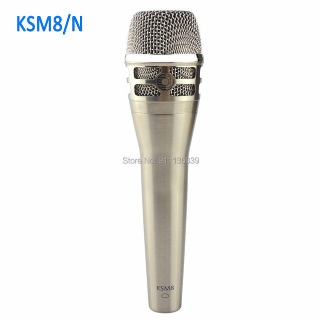 Free shipping ,KSM8/N  wired dynamic cardioid professional vocal microphone , KSM8 wired vocal microphone
