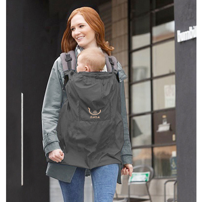 Winter Baby Carrier Infant Warmer Cloak Windproof Cover Rainproof Newborn Sling Infant Toddler Wrap Belt Cover Accessories