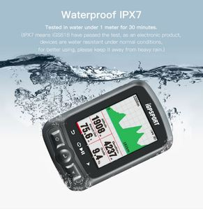 Image 2 - Компьютер IGPSPORT ANT + GPS IGS618, беспроводной Велосипедный Bluetooth секундомер, водонепроницаемый велосипедный датчик, спидометр, компьютер