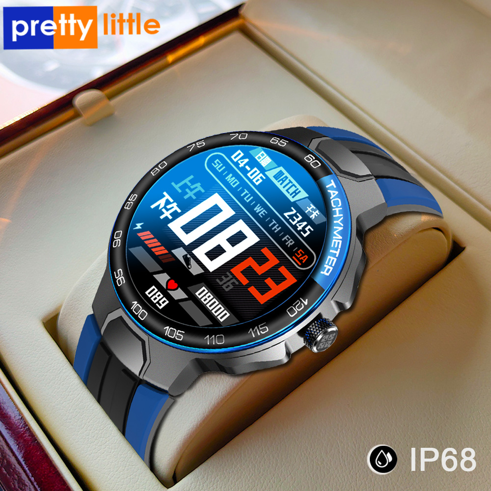 Smart Watch Men Women IP68 Waterproof Bluetooth 5.0 24 Exercise Modes Smartwatch E1-5 Heart Rate Monitoring for Android Iosr A
