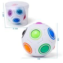 Магический шар игрушка Непоседа Радуга головоломка магический