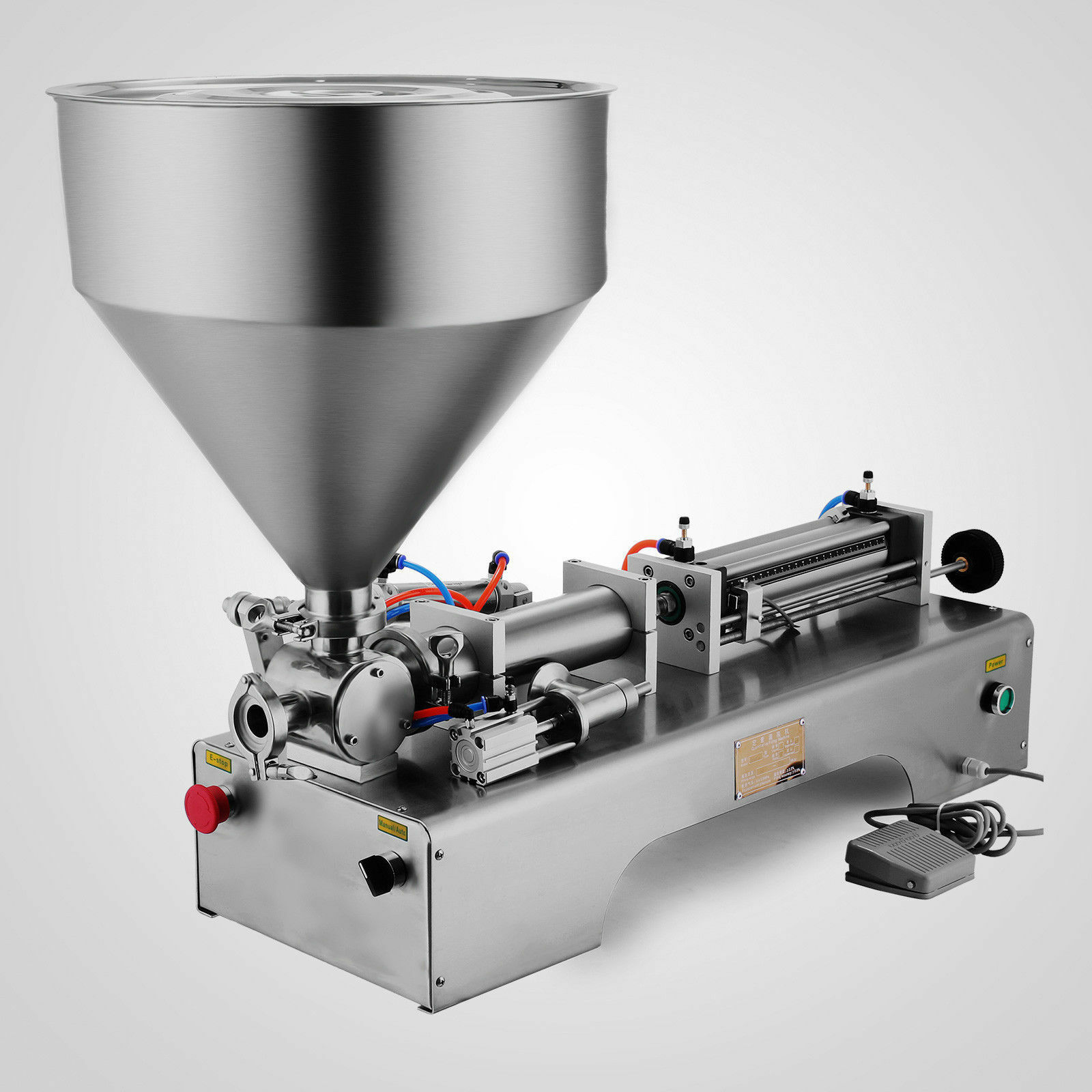 50-500ML Pneumatic Liquid Filling Machine Cream 304 Stainless 25bottles/min Suitable For Multiple Industries