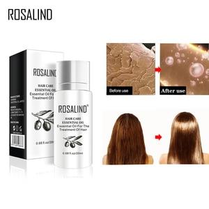 ROSALIND 2PCS Hair Oil Shampoo Keratin For Hair Treatment Serum Hairs Mask Keratin Shampoo Argan Oil Repair Care Oil For Hair