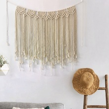 Tapestry Wall Hanging Hippie Decor Wall Tapestry Macrame Psychedelic Witchcraft Indian Fabric Bohemian Tapestry Dream Catcher moonnight meteor fabric decorative wall tapestry