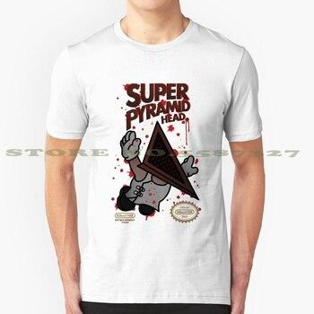 Camisetas Vintage a la moda de superpiramid Head - Silent Hill, Silent Hill 2 Silent Hill 3 Play Station