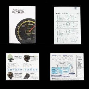 Image 3 - GReddi medidor automático de 74mm Sirius Trust, 7 colores, Turbo Boost Volt, temperatura de agua, aceite, presión Turbo RPM, EGT, relación A/F, medidor de combustible