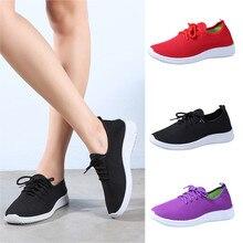 Женская обувь; однотонные дышащие лоферы с круглым носком; мягкие ботинки для бега на плоской подошве для отдыха; удобная обувь; обувь для бега;# XX20