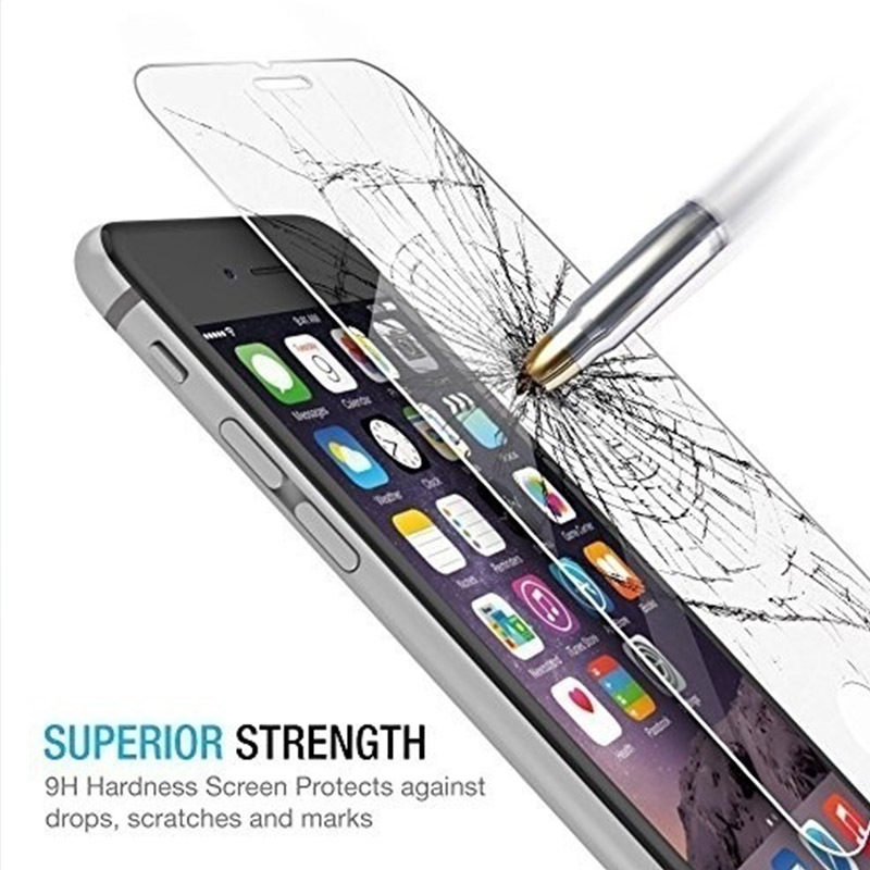 5pcs 3pcs For Tempered Glass Iphone 7 8 Screen Protector plus Protective On