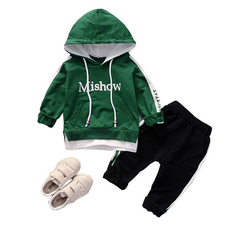 pants Outfits spring autumn clothing 2pcs cotton kids baby infant Girls tops
