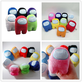 10CM Among Us Plush Doll HOT Soft Plush Colorful Crewmate Plush Toy Game Doll Cute Hand Size Kids Gift F 2020 Among Us Toys#L40 image