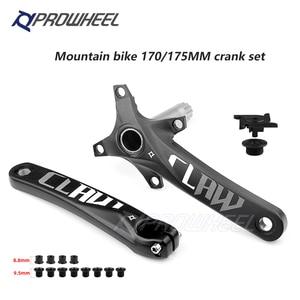 Image 2 - PROWHEEL 104BCD 산악 자전거 크랭크 셋 170mm 175mm 크랭크 및 하단 브래킷 BB MTB 크랭크 알루미늄 합금 자전거 부품