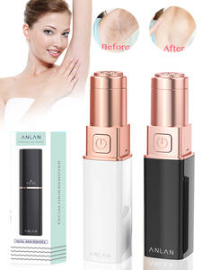 Bikini Shaver Hair-Removal Electric Epilator Lipstick-Style Lip-Cheeks Painless Female