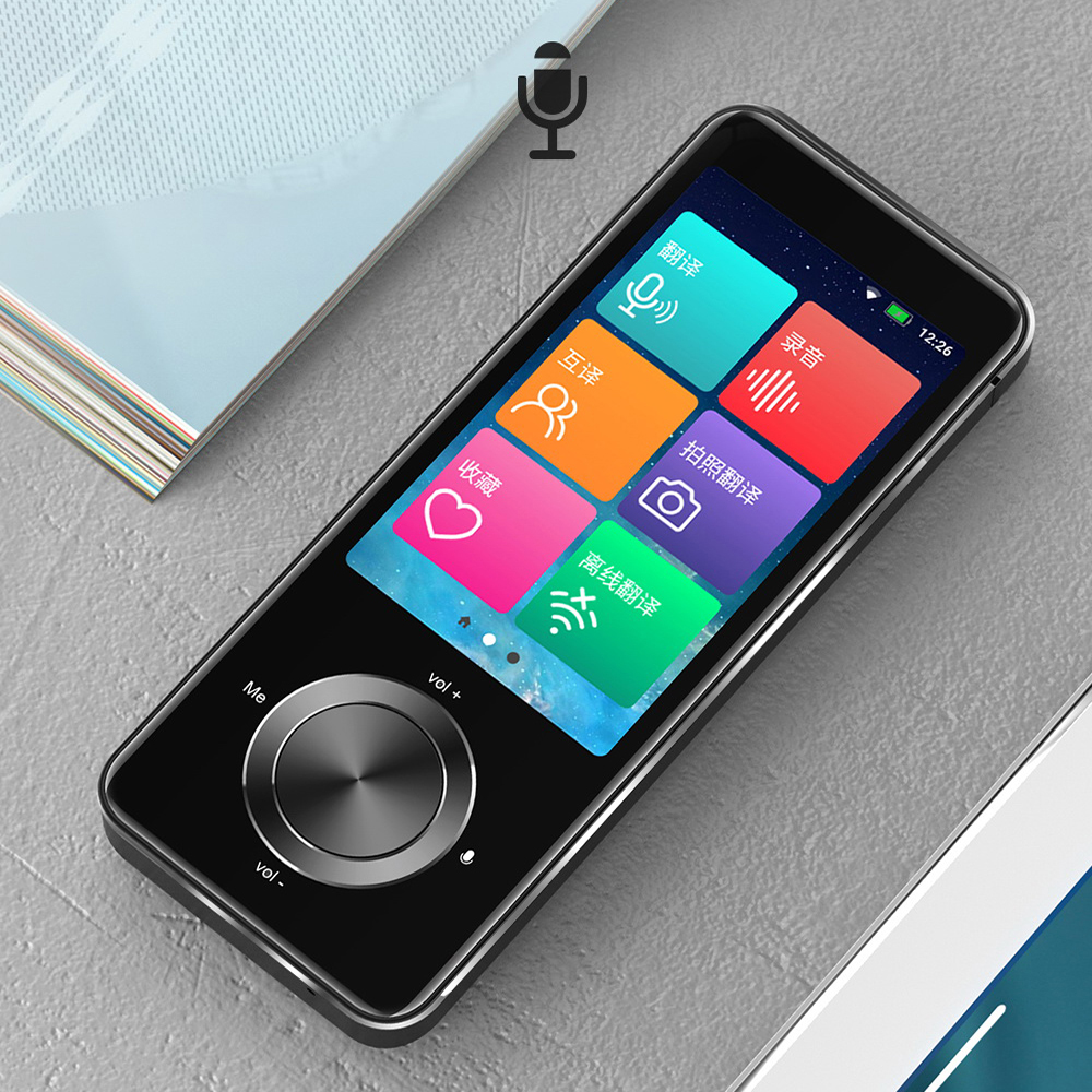 M9 Portable Smart Voice Translator Global Offline Translator Interpreter Online Translator Intelligent Translation Russian 1