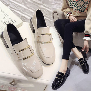 Image 4 - Designer Shoes Women Luxury 2020 Summer Woman Fashion Black Work Patent Leather High Quality Plus size Ladies Shoe Zapatos mujer