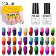 Rosalind Gel Kleur Veranderende Temperatuur Hybrid Varnis Gel Nagellak Losweken Nieuwe Jaar Semi Permanente 7Ml Color Nail art Design