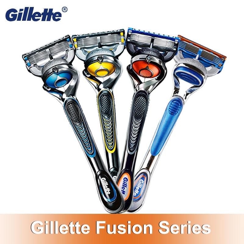 Gillette Fusion 5 Face Razor Shaving Cassettes Proglide Proshield Chill Razor Holder Or Replaceable Razor Blades 5 Layer Jilet