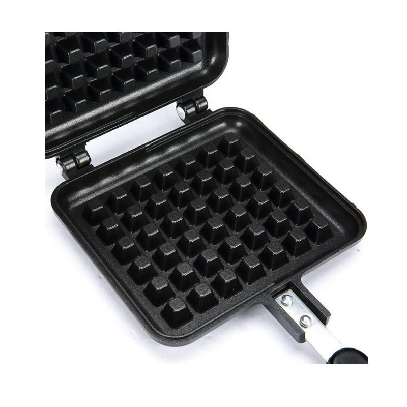 Portable Non Stick Waffle Maker Machine With Made Of Aluminum Alloy For Home Kitchen 11