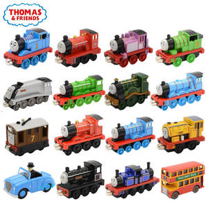 Train Locomotive Toys Diecasts Magnetic-Train-Toy Thomas Douglas Emily Metal Friends