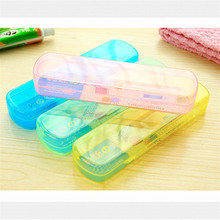 1PC Travel Portable Health Tooth Brushes Protector Toothbrush Case Hiking Camping Storage Box Waterproof Toothpaste Organizer