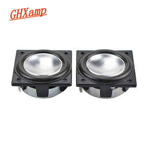 Image 2 - GHXAMP 32MM*32MM Speaker Full Range Neodymium 1.25 inch 3W Mini Square speaker Aluminum Pot Bottom Bluetooth audio 2PCS