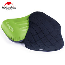 Naturehike ao ar livre inflável viagem travesseiros capa conjunto travesseiro NH17T013-Z