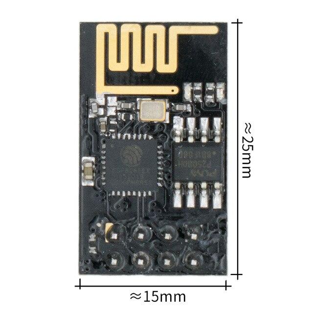 ESP 01 ESP8266 סידורי WIFI אלחוטי מודול אלחוטי משדר 100 יח\חבילה