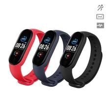 Bracelet intelligent M5 montre intelligente Bluetooth Sport Fitness Tracker podomètre moniteur de fréquence cardiaque rappel d'appel pression artérielle M5 Smartband
