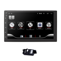 2 Din Universal 7 Car Navigation Bluetooth Touch Screen Wifi Audio Stereo USB Multimedia mic dab+ DVR Camera Mirror link TPMS