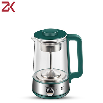 ZK Multifunction Electric Kettle Teapot 1.2L Thicker Glass Teapot Health Pot Heater Hot Water Heating Insulation Kettle electric teapot with infuser filter health electric kettle puer oolong tea teapot 800ml tea pot multifunction glass water kettle