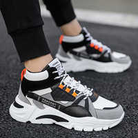 LASPERAL Nouveaux Hommes chaussures décontractées Bac-Hommes Chaussures D'hiver Mode Féminine Maladroit Sneaker décontracté Plate-Forme Haute Talon Papa Chaussures 39-44