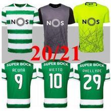 2020 de 2021 alta calidad deportivos camiseta de los hombres de la moda ropa de sparting T camisa Camiseta de futbol