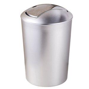 6.5L Bathroom Garbage European Style Trash Wastebin With Lid Kitchen Trash Cans Storage Tools Garbage Waste Bin Waste Bins Home & Garden -