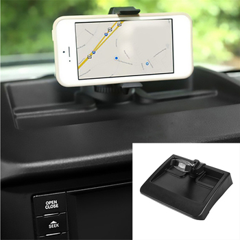 Dedicated Mobile Phone Holder Mount GPS Cell Phone Bracket For Jeep Wrangler 2008 2009 2010 2011 Car Interior Accessories Black