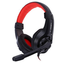 Lupus G1 Gaming Headphone 3.5mm Surround Stereo Headset Headband Headphone with Mic for PC Laptop Low Bass Wired Headset binmer futural digital g800 stereo surround gaming headset headband micheadphone high quality f25