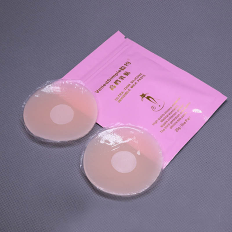 Reusable Invisible Self Adhesive Silicone Breast Chest Nipple Cover Bra Pasties Pad Petal Mat Stickers Accessories For Woman