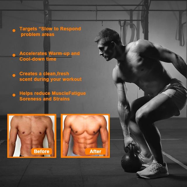 Anticelulitica Sweat Fat Burning Gel -Natural Weight Loss Cream Workout Enhancer For Shaping Waist Abdomen and Buttocks Slimming 5